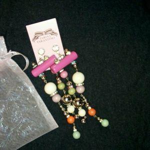 TT strange delight earrings NWT